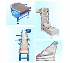 Screw Conveyors, Belt Conveyors, Roller Conveyors, Apron Conveyors, Bucket Elevators, Slat Conveyors, Ball Transfer Units, Rotary Air Lock Valves, Rotary Feeders, Mumbai, India